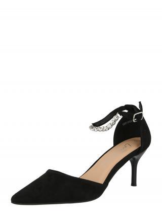NEW LOOK Remienkové sandále  čierna dámské 35,5