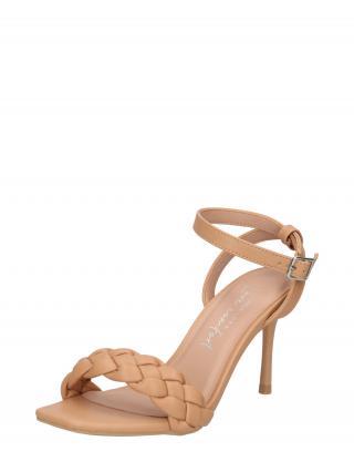 NEW LOOK Remienkové sandále  farba ťavej srsti dámské 35,5