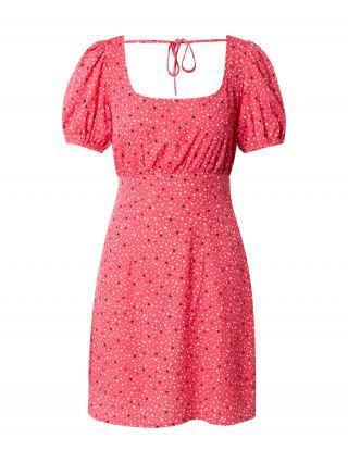 NEW LOOK Šaty HENRIETTA  červená / biela / čierna dámské 32