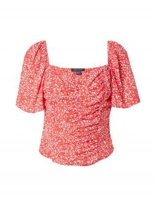 NEW LOOK Tričko EMMA  červená / biela dámské XXS