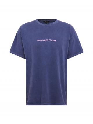 NEW LOOK Tričko  námornícka modrá pánské L
