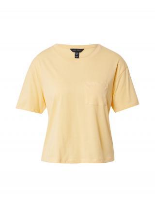 NEW LOOK Tričko  svetložltá dámské S