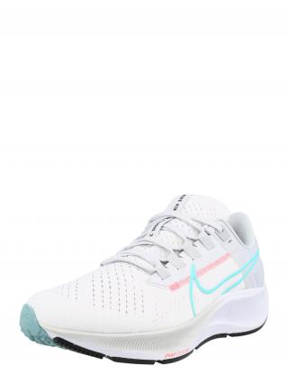 NIKE Bežecká obuv Air Zoom Pegasus 38  biela / vodová / svetloružová dámské 36