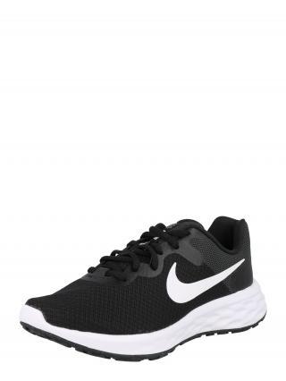 NIKE Bežecká obuv Revolution 6  čierna / biela dámské 36
