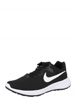 NIKE Bežecká obuv Revolution 6  čierna / biela pánské 42,5