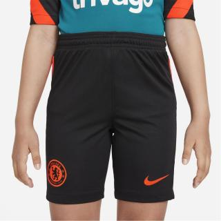 Nike Chelsea Third Shorts 2021 2022 Junior čierna 11-12 Y