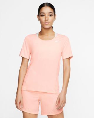 Nike City Sleek Tričko Béžová dámské L