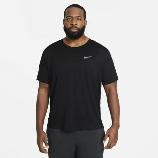 Nike DriFit Miler Running Top Mens pánské čierna 4XL
