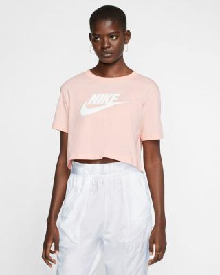 Nike Essential Tričko Ružová dámské L