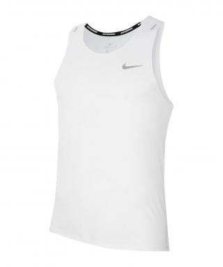 NIKE Funkčné tričko  biela / svetlosivá pánské XL