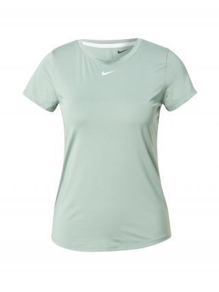 NIKE Funkčné tričko  mätová / biela dámské XS