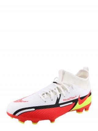 NIKE Športová obuv  biela / červená / neónovo žltá / čierna pánské 36,5