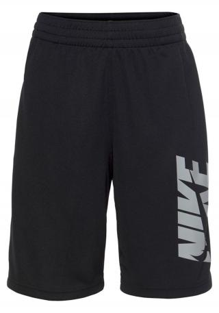 NIKE Športové nohavice  čierna / sivá pánské S