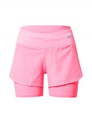 NIKE Športové nohavice ECLIPSE  ružová dámské XS
