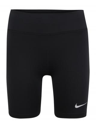 NIKE Športové nohavice Fast Womens 7  čierna dámské XL