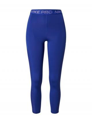NIKE Športové nohavice  kráľovská modrá / biela dámské XS