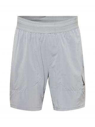 NIKE Športové nohavice  sivá pánské S