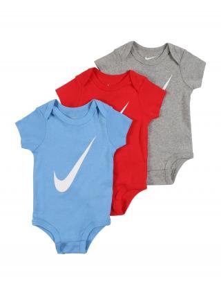 Nike Sportswear Body  červená / modrá / sivá 68-80