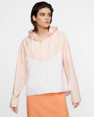 Nike Sportswear Bunda Biela Béžová dámské L