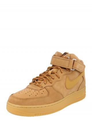 Nike Sportswear Členkové tenisky Air Force 1 Mid 07  hnedá pánské 39