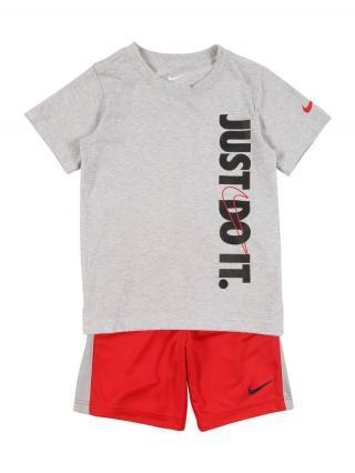 Nike Sportswear Set  čadičová / červená pánské 92-98
