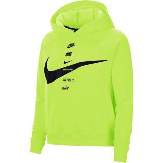 Nike Sportswear Swoosh Womens Brushed-Back Fleece Hoodie dámské Other XL