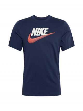 Nike Sportswear Tričko  námornícka modrá / biela / červená pánské XS