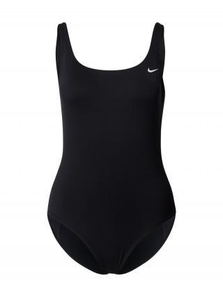 Nike Swim Športové jednodielne plavky  čierna dámské XS