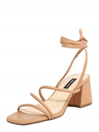 Nine West Remienkové sandále WNGORG  telová dámské 36,5