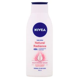 Nivea Vyživujúce telové mlieko Natura l Radiance  400 ml dámské