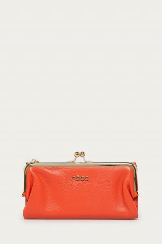 Nobo - Kožená peňaženka dámské oranžová ONE SIZE