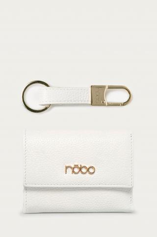 Nobo - Kožená peňaženka   kľúčenka dámské biela ONE SIZE