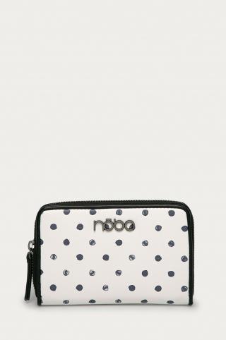 Nobo - Peňaženka dámské biela ONE SIZE
