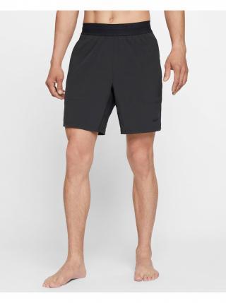 Nohavice a kraťasy pre mužov Nike - čierna pánské L