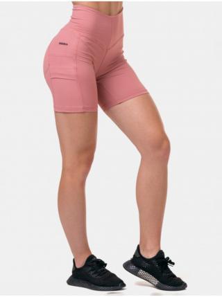 Nohavice a kraťasy pre ženy NEBBIA - ružová dámské L