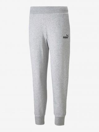 Nohavice a kraťasy pre ženy Puma - svetlosivá dámské XXS