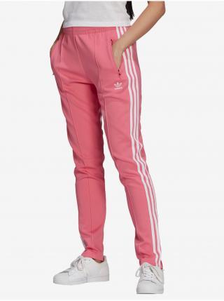 Nohavice pre ženy adidas Originals - ružová dámské XS