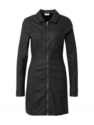 Noisy may Košeľové šaty LISA  čierna dámské 34