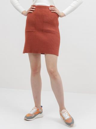 Noisy May oranžové sukňa Ship - XL dámské oranžová XL