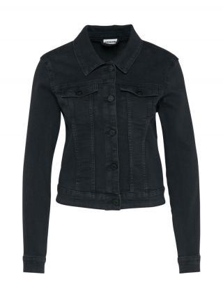 Noisy may Prechodná bunda Debra  čierny denim dámské XS