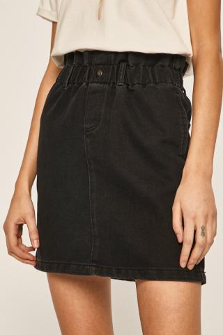 Noisy May - Rifľová sukňa dámské čierna L