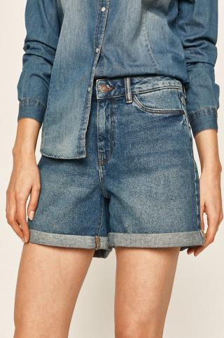Noisy May - Rifľové krátke nohavice dámské modrá M