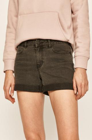Noisy May - Rifľové krátke nohavice dámské sivá M