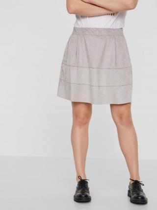Noisy May sivé sukňa Lauren - S dámské sivá S