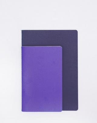 Nomess Studybooks M/L Bright Blue/Dark Blue Fialová