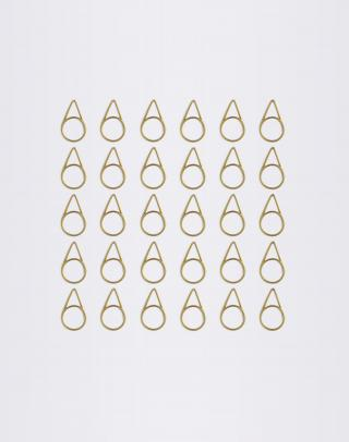 Normann Copenhagen Paper Clips 30 Lemon Curry Žltá