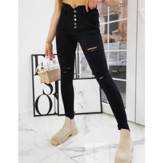 NOVELIO women´s jeans pants black UY0713 dámské Neurčeno SX/34