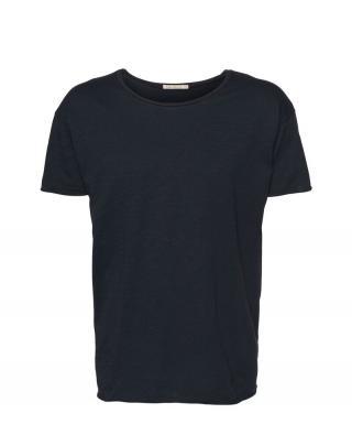 Nudie Jeans Co Tričko Roger Slub  námornícka modrá pánské XL