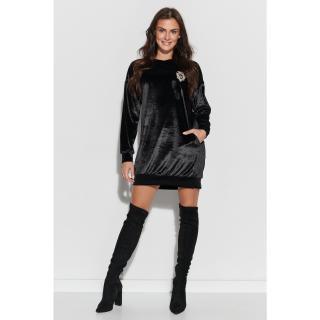 Numinou Womans Dress Nu302 dámské Black 36