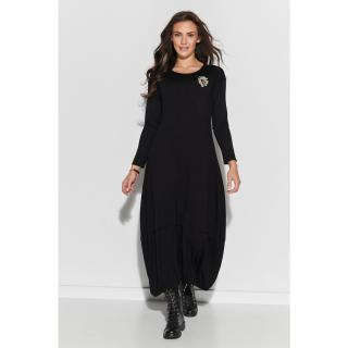 Numinou Womans Dress nu319 dámské Black 36